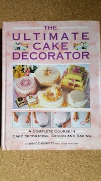 Cake decorating book Edmonton, T5G 2A4