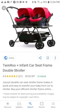 Best Double Stroller for infants twins