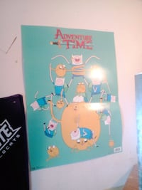 Adventure Time poster  Gothenburg, 69138