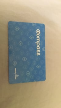compass card adult Vancouver, V5Z 3L3