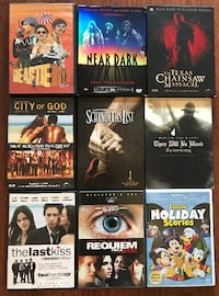 """DVDs (x27, includes Criterion Collection """"Beastie Boys Anthology"""")"""