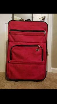 red and black softside luggage Frederick, 21701
