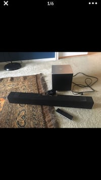 Vizio Subwoofer and Sound Bar (remote included) Arlington, 22204