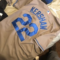 white and blue Los Angeles Dodgers jersey Los Angeles, 90044