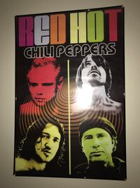 Red Hot Chili Peppers framed poster Brentwood, 63144