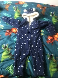 baby's blue and green footie pajama Châteauguay, J6K