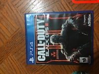 Call of Duty Black Ops III PS4 game case Orillia, L3V 6Y2
