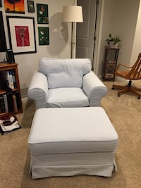 2 IKEA Ektorp chair covers & ottoman cover Johnstown, 43031