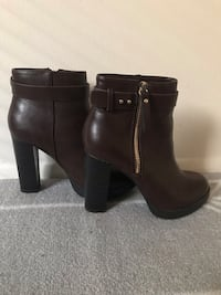 Size 5.5 women's Brown Booties  Columbus, 43201