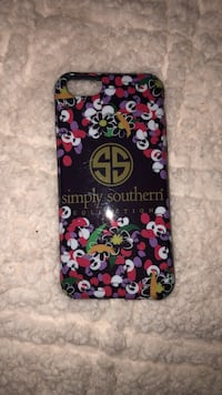 multi-colored Simply Southern iPhone case