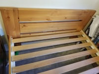 Pine Bed Frame Pitt Meadows