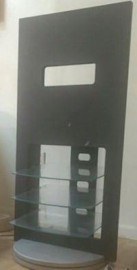 black and white wooden cabinet Houston, 77016