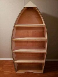New Hand-crafted Wood RowBoat Bookcase  Dimensions Pleasantville, 10570