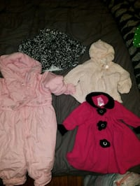 Lot of 18 month girls clothing.