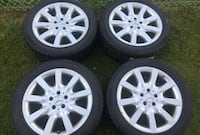 255/45R18 Rims and tires Toronto, M4A 2S3