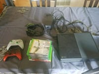Xbox one console with controller and game cases Stephens City, 22655