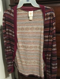 brown and white cardigan Pasco, 99301