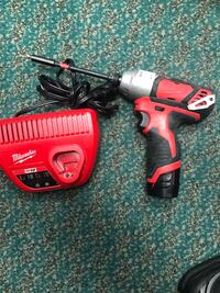 Impact Drill, Tools-Power Milwaukee 12 Volt Impact Drill W/Charger