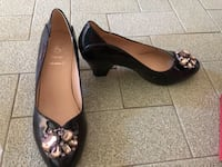 Wide Fit high heel shoe/Real Leather Singapore