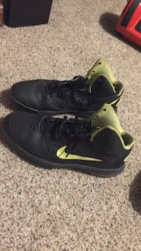 black-and-green Nike athletic shoes Rocky View No. 44, T0J 1X2