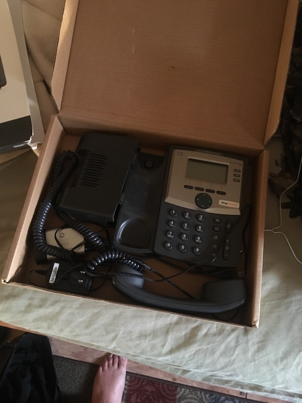 Cisco ring central ip phone