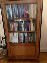 Assorted Polished Wood Standing Bookshelves $50 - WILL DELIVER!!!