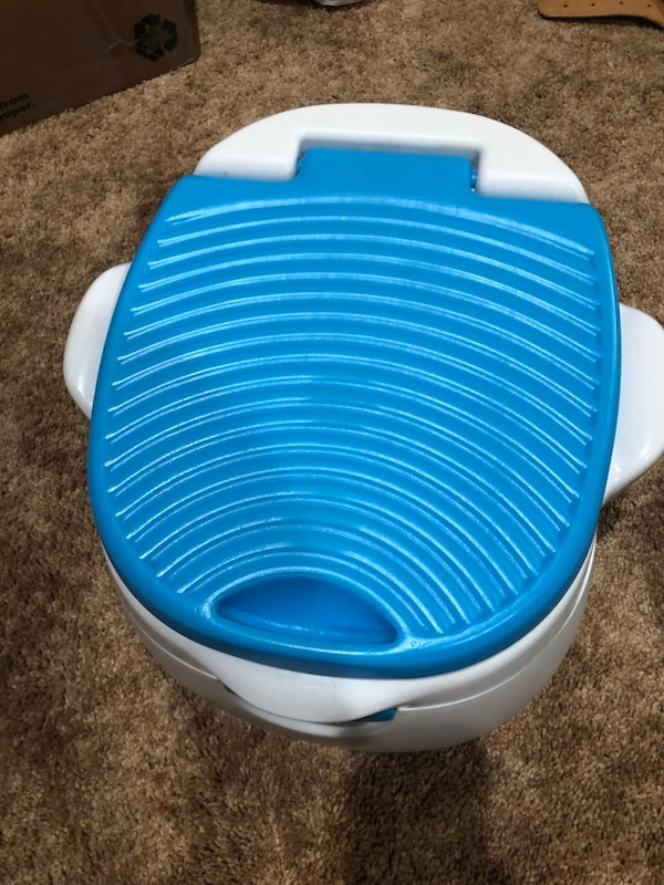 Toddler Potty Training Toilet & Step Stool 0