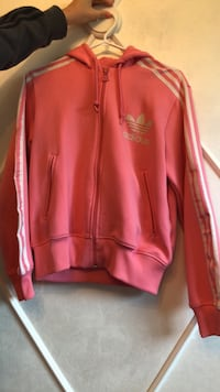 Adidas originals pink zip up hoodie  Delta, V4C 1K5