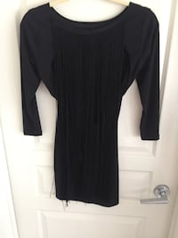 Nasty Gal - Black Fringed Dress Calgary, T2G 1E1
