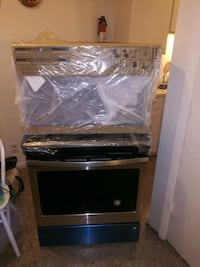 black and gray induction range oven Dallas, 75230
