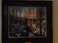 Battlefield Prayer by John Paul Strain LE Lithograph Framed Manassas, 20110