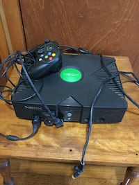 Xbox console and controller