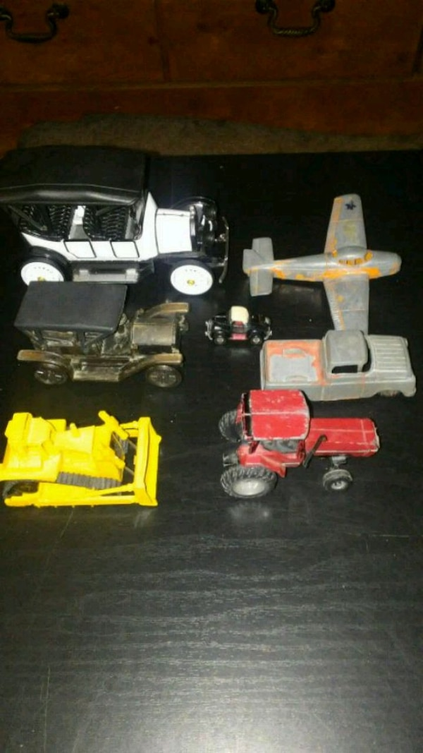 7 old toys (all collector items)