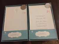 Wedding or Christening invitation kit Easy to print cards 100 total Kitchener, N2P 2S3