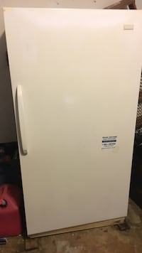 White single-door freezer McDonough, 30252