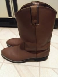 Mens Leather Western Lehigh Boots, Size 12 EE Nottingham, 21236