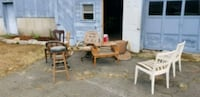 brown wooden table with chairs Southbridge, 01550