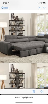 Brand new sectional with bed  Toronto, M1P 2K8