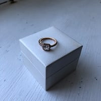 PANDORA Timeless Elegance Ring Rose Gold size 4.5