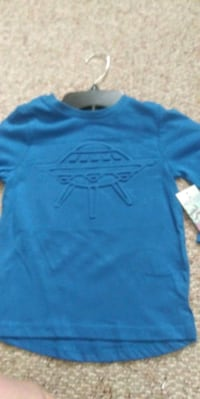 BOYS BLUE LONG SLEEVE HOLLYWOOD SHIRT Mooresville, 46158