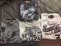 Superdry t shirts, Like new Vancouver