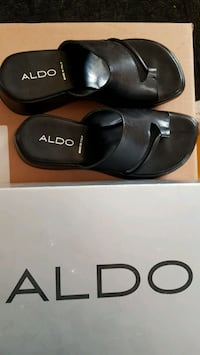 New Black Women's Aldo sandals size 6 (36) Brampton, L6R 2T4