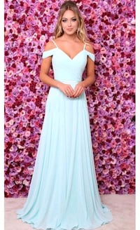 women's sky blue sleeveless maxi dress Mumbai, 400078