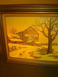 painting of brown house with brown wooden frame Pangburn, 72121