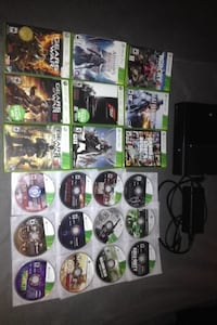 250 GB Xbox 360 with games Scugog, L9L 1C4