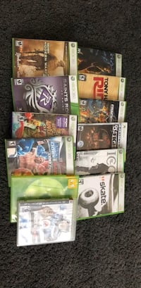 assorted-title XBOX 360 case lot Brampton, L6P 3K9