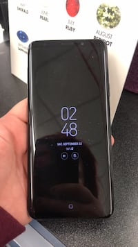 Black samsung galaxy s9+edge Anchorage, 99501