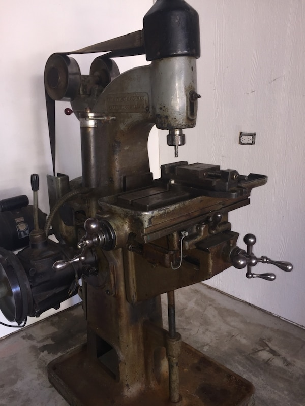 Used Milling Machine >> Used 1920s Taylor Fenn Co Vertical Milling Machine I Would Trade