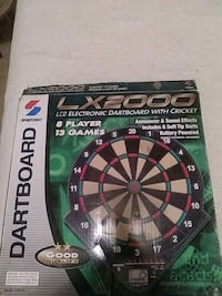 Electronic soft-tip dart board