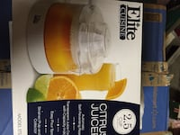 Elite Cusine citrus juicer box